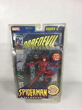 Toybiz Marvel Legends Spiderman Classics Series II Daredevil (MINOR WEAR ON BOX)