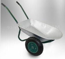 16018/ Schubkarre Zweiradkarre Baukarre Gartenkarre Muldenkarre Bau 100L 150kg