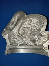 Gorgeous Swan Metal Chocolate Mold Marked Ges Gesch Number 887