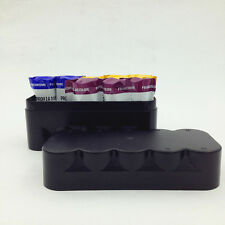 120 film storage Plastic Hard case box for 10 rolls Black / White without film