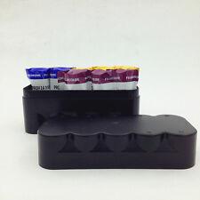 120 film storage Plastic Hard case box for 10 rolls Black / White without film