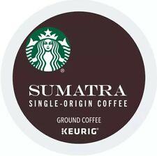 New 88 Count_Starbucks Sumatra Coffee Keurig K-Cup Pods Dark Roast-Free Shipping