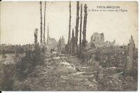 CPA-59 - VIEUX-BERQUIN - La Drève et les ruines de l'église