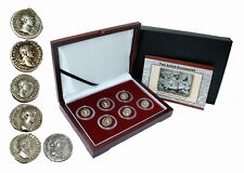 THE GOOD EMPERORS The Grandeur That Was Rome - 6 Silver Coins Collection  COA