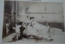 UN COUPABLE JOSEPH COOMANS TABLEAU CARTE ALBUM  PHOTO GOUPIL N°23