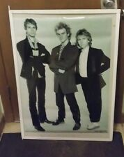Police Rare New Poster Late 2000'S Vintage Collectible Sting