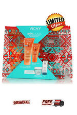 Vichy Ideal Soleil PROMO SET GREEN 4 PRODUCTS *2 SUNSCREENS & FACE MASK & CREAM*