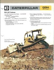 Equipment Brochure - Caterpillar - D5H LGP - Track-type Tractor - 1986 (E3980)