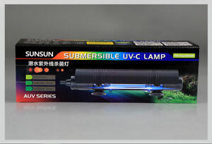 Sensen 6W fish tank germicidal lamp UV disinfection lamp diving germicidal lamp