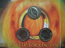 New Zealand 1 Dollar 2003 Three Coins set Lord of the Rings with Best Coin