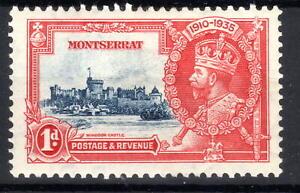 Montserrat Silver Jublee 1d 1935 MH  KGV [M030921-4]