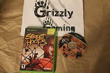 USED Street Hoops XBOX (NTSC) TESTED and WORKING