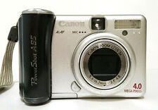 Canon PowerShot A85 Compact Digital camera 4.0 megapixel 3X Optical Zoom Silver