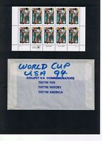 USA - Stamps -1994 - World Cup Soccer Championship - MNH - 40c - Block of 10