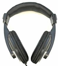 HP Big Size Stereo Headphones 6' Cable with Volume Control Large