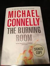 The Burning Room By Michael Connelly-Signed-1st. Edition 1st/ Print Hardcover/DJ