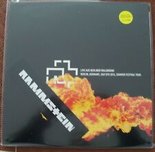 "RAMMSTEIN ""LIVE AUS BERLINER WALDBUHNE"" DOUBLE BLOOD LP BERLIN SOMMER FEST 2016"