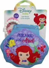Disney Baby Princess Ariel Teether and Soft Book Toy Baby Girl