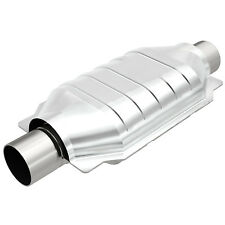 "Magnaflow 93506 Universal High-Flow Catalytic Converter Oval 2.5"" In/Out"