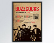 BUZZCOCKS reimagined 1978 uK Tour Poster A3 size.