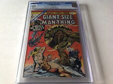 GIANT SIZE MAN-THING 3 CGC 9.6 WHITE PGS A WORLD HE NEVER MADE MARVEL COMICS A