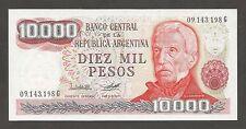 Argentina 10000 Pesos N.D. (1976); UNC; P-306a; National Park; Wmk: Arms