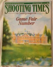 The Shooting Times and Country Magazine July 27 - Aug 2 1989