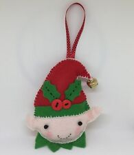 Make Your Own Felt Christmas Tree Decoration Kit - Elf