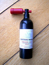 Novelty French Chateau Medoc 2001 Wine Bottle Opener Novelty Corkscrew