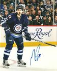 MATHIEU PEEREAULT *SIGNED* WINNIPEG JETS 8X10 PHOTO COA!! *NEW*