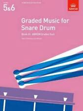ABRSM Graded Music for Snare Drum (Grades 5-6) Book 3 - Same Day P+P
