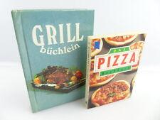 2 minibücher: le pizza livre de cuisine, barbecue carnet plus de 50 photographies en couleurs e392