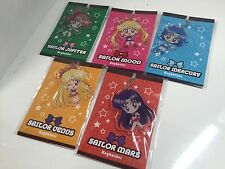 Sailor Moon Crystal acrylic keychain Strap Exhibition All 5 set Japan Rare