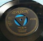 JOHNNY CASH - I WALK THE LINE C/w GET RHYTHM - GOLD LONDON TRI CENTRE 1957