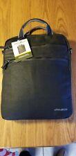 Eddie Bauer 16' Laptop Briefcase Sleeve - Soft Black (EBWAXV-BLK)