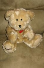 "10"" Sitting Kiss Hersheys Kisses Bean Plush Bear"
