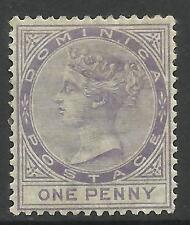Dominica Victoria (1840-1901) Stamps