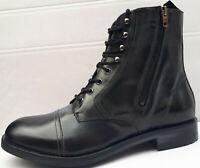 DIESEL D-Serberhus DBB Herren Boots Gr. 41 Leder Stiefel Schuhe Stiefeletten neu