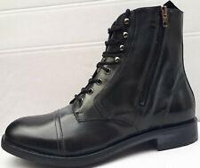 DIESEL D-Serberhus DBB Herren Boots Gr. 42 Leder Stiefel Schuhe Stiefeletten neu