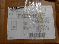 KILLARK FXCS-0A15 PUSHBUTTON CONTROL STOP STATION OTHER PARTS AVAILABLE