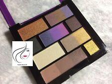 MUA Captivation Merged Ombre Eyeshadow Palette - Matte Metallic Plum Brown Nude