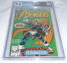 Avengers #196 CGC Universal Grade 9.8 Origin 1st Full Appearance Taskmaster Thor