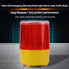 Solar Car Truck Boat LED Emergency Warning Flash Light Strobe Beacon Alarm Lamp
