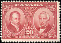 1927 Mint H Canada F Scott #148 20c Historical Issue Stamp