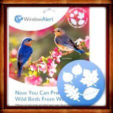 Window Alert LEAF MEDLEY 5 DECALS Protect SAVE Wild Birds PREVENT WINDOW STRIKES