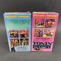 Richard Simmons Tonin' Uptown & Tonin' Downtown VHS Lot Brand New Sealed FS