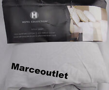 Hotel Collection 600 Thread Count Egyptian Cotton QUEEN Fitted Sheet Silver