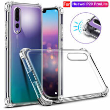 360° Shockproof Soft Silicone TPU Clear Case Cover Fur Huawei Mate 10 Pro P9 P10