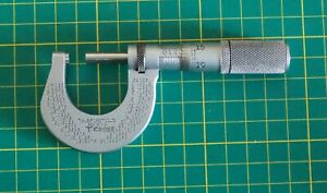 Vintage Starrett External Micrometer (VGC) - 0 to 1 inch