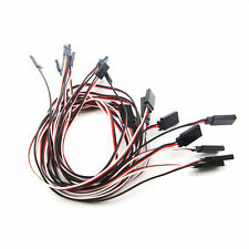 10PCS 50cm Length  3 Pin Male to Female RC Servo Extension Cord Cable